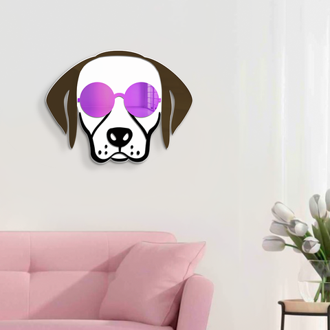 Cool Labrador Mirror 16x16