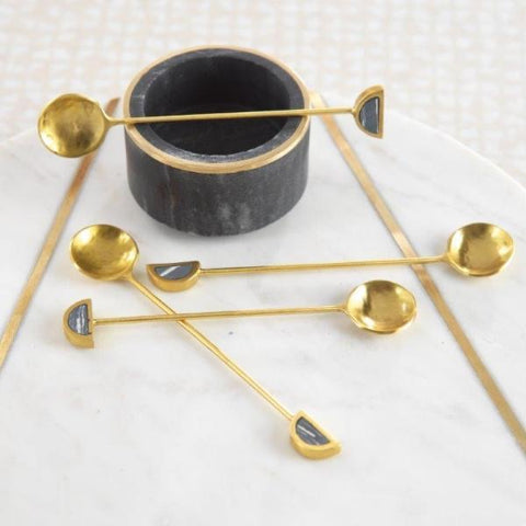 Zodax Gold Cocktail Spoons
