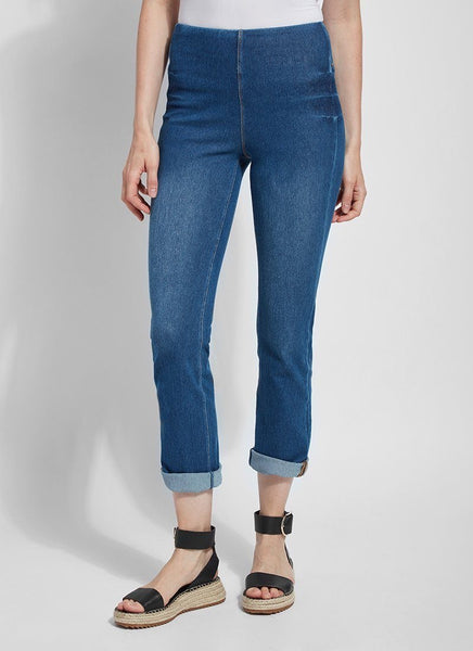 Lysse` Boyfriend Mixed Wash Denim