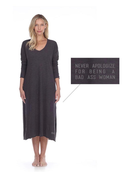 Poetically Correct Cotton Long Sleeve Dress