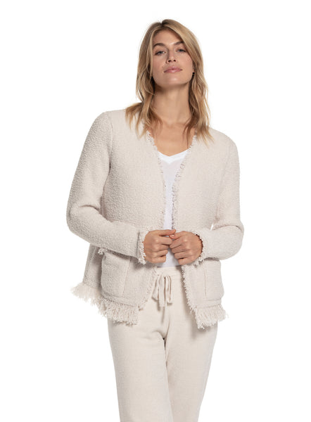 Barefoot Dreams Fringe Jacket