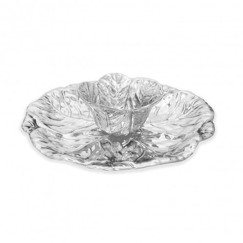 Beatriz Ball GARDEN Cabbage Tray with Dip Bowl