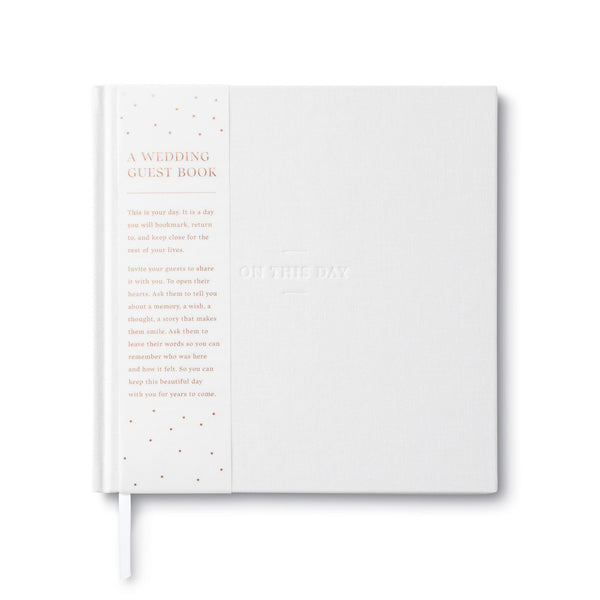 Compendium Wedding Guestbook