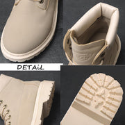 Male Desert Shoes Combat Timber Cowboy - pearlzone