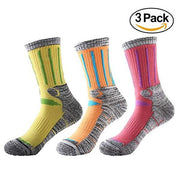Women's Multi Performance Outdoor Sport Socks 3 Pairs
