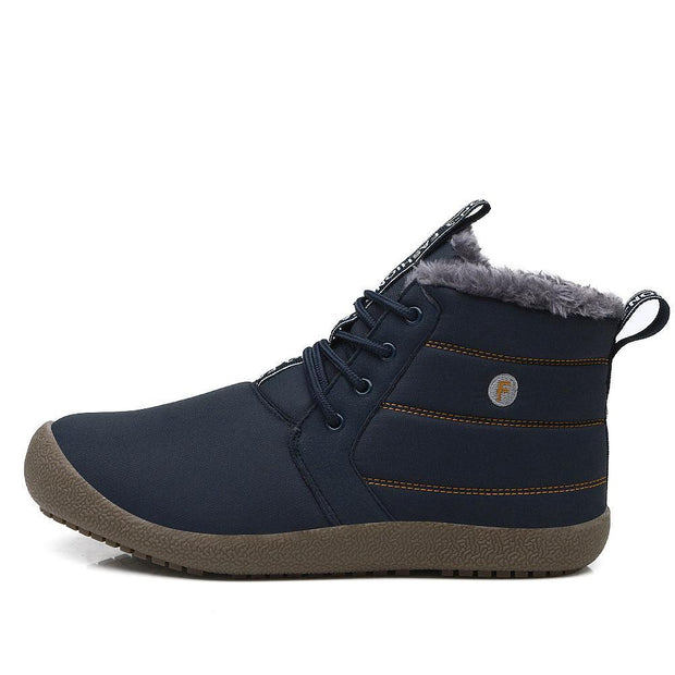 Men's Cotton Snow Boots - pearlzone