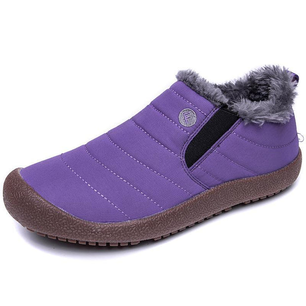Women's Water-resistant Casual Cotton Winter Snow Boots