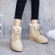 Women Thickened Plus Velvet Comfortable Wearable Short Boots