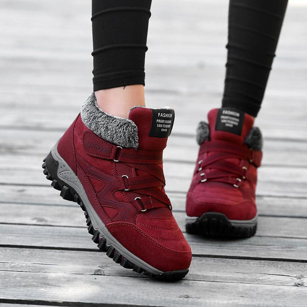 Women's Plus Cotton Casual Sneakers