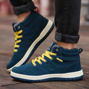 Men's cotton shoes high shoes and velvet outdoor shoes