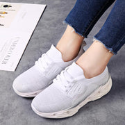 Women Flying Woven Casual Sports Shoes