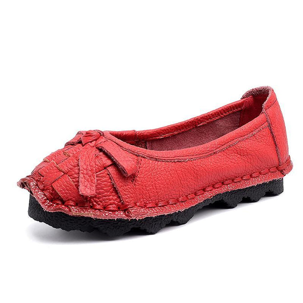 Women's Casual Soft Bottom Comfort Bean Lazy Shoes