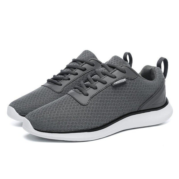 Men's sports and leisure mesh handmade shoes