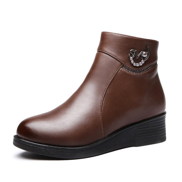 Women's Winter Platform Booties