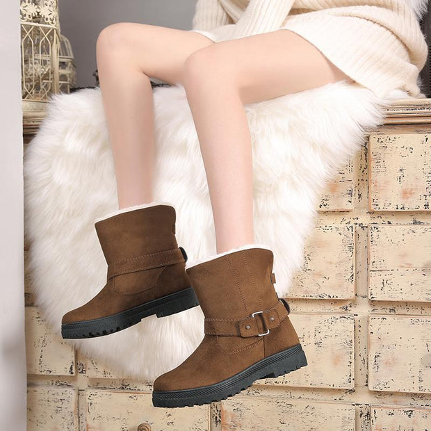 Women Autumn and Winter Non-Slip Warm Boots