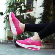 Women's Spring Casual Breathable Mesh Rocking Sneakers
