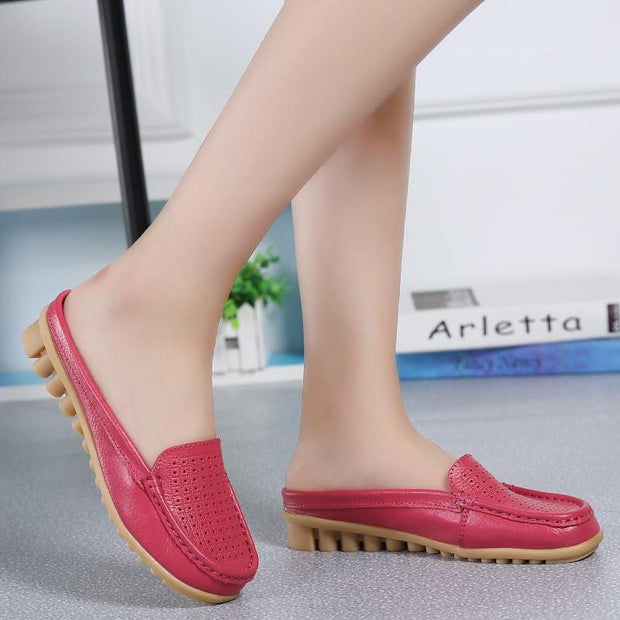 Women Summer Breathable Fashion Casual  Mule Sandals Shoes
