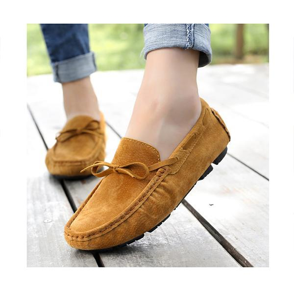 Pearlzone_Ladies Casual Peas Loafers Flats
