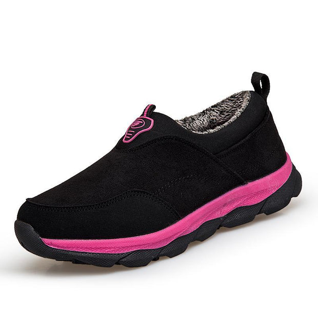 Women's Plus Cotton Non-slip Soft Bottom Walking Sneakers