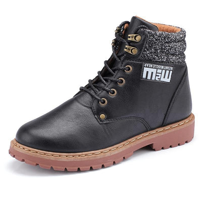 Pearlzone_Men High-Top Casual Martin Boots