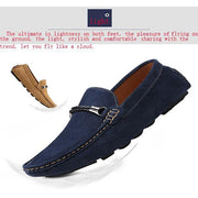 Men's Genuine Leath Casual Boat Loafers