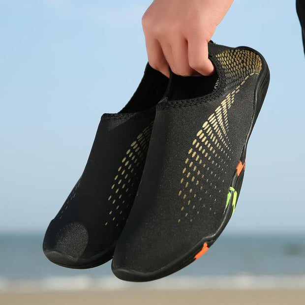 Pearlzone_Men Stretch Fitness Beach Shoes