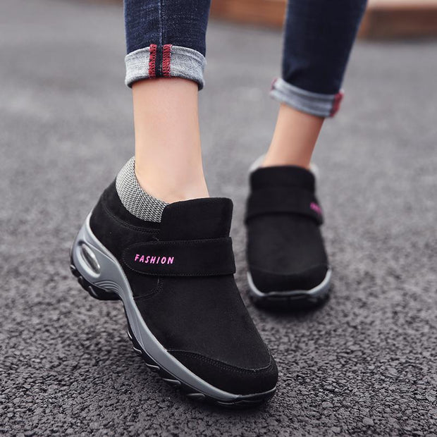 Women's Air Cushion Increased Casual Walking Sneakers