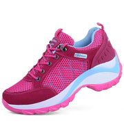 Pearlzone_Large size women's breathable height hiking shoes 117514