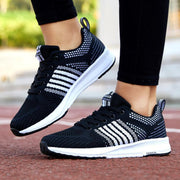 Women's Sports and Leisure Flying Woven Sneakers