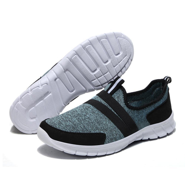 Pearlzone_Men Ultra-light Elastic Leisure Sports Shoes