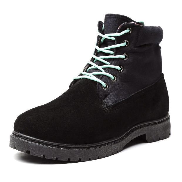 Men's Water Resistance Roll Top Leather Work Boots