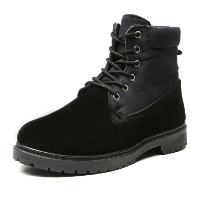 Men's Roll Top Leather Work Boots