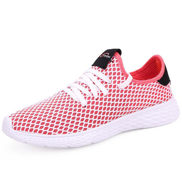 Women Spring new casual sports shoes mesh breathable retro Korean version of the tide shoes 118443