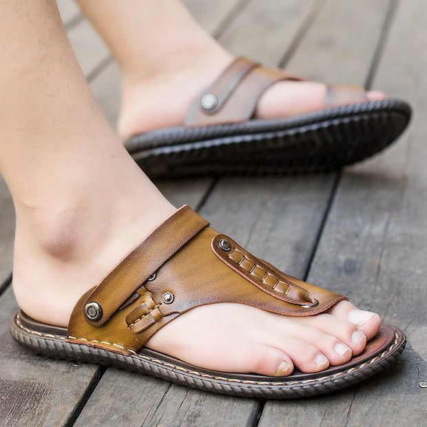 Men's Comfortable Leather Sandals 118322