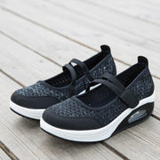 Women's Flying Woven Cushion Nursing Sneakers