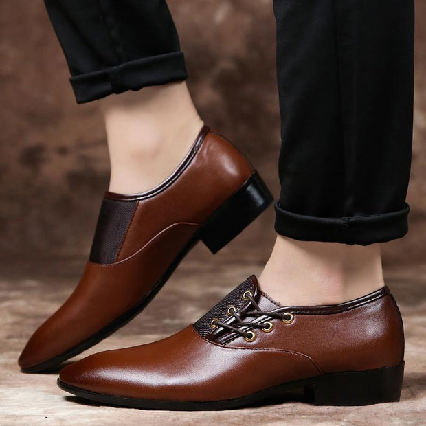 Men's business dress shoes extra large men's shoes casual shoes