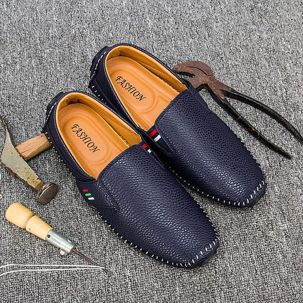 Men's British Casual Handmade Boat Shoes