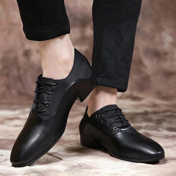 Men's business dress shoes extra large casual shoes pointed shoes 117829