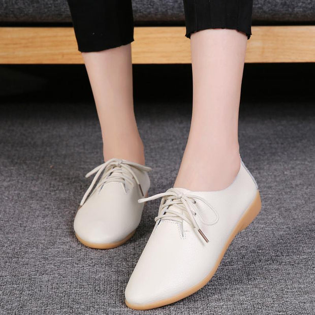 Women's fashion trend wild white shoes casual shoes 118031