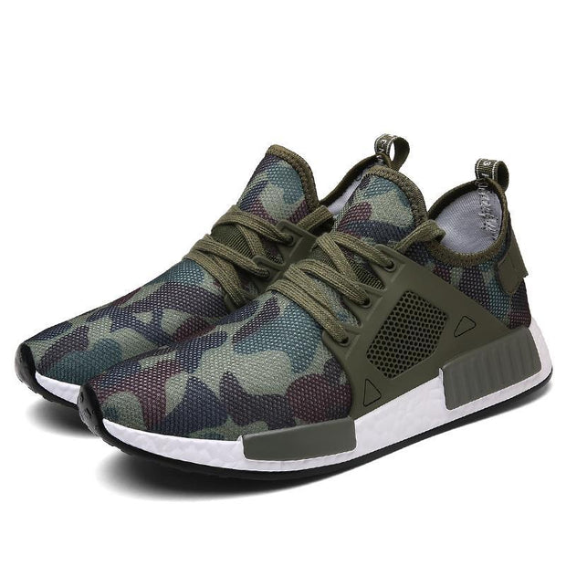 Men's large size camouflage shock absorption mesh 117901