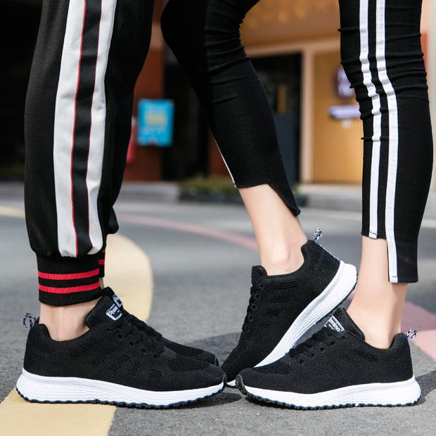 Pearlzone_Breathable Sneakers Comfortable Plus Size Shoes Fashion Running Lovers Shoes 119139