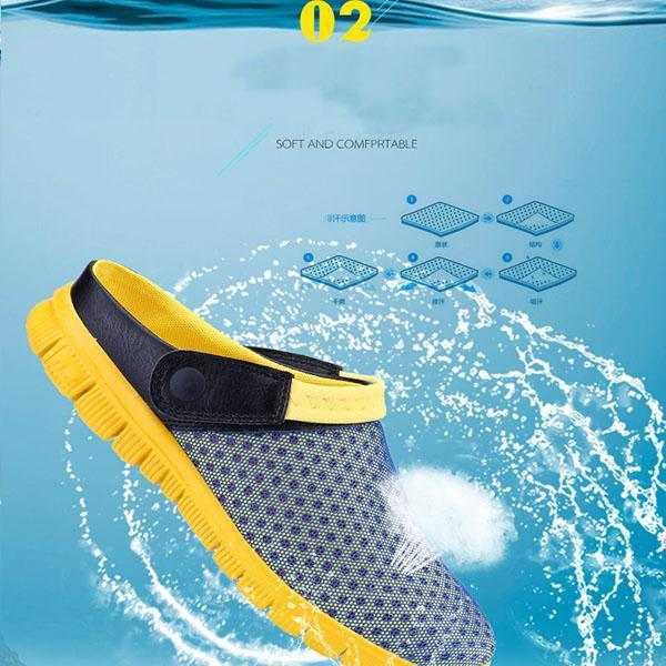 Men's Mesh Hold Beach Slippers
