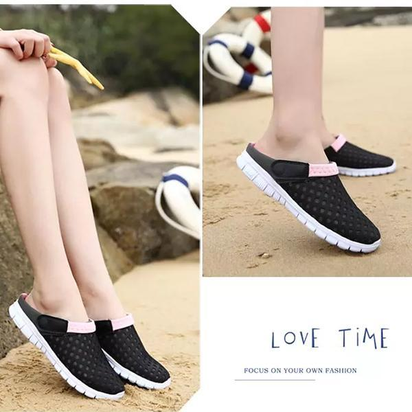 Women's Mesh Hole Beach Sandals Slippers