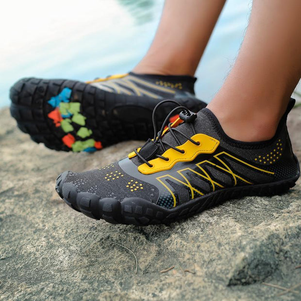 Pearlzone_Men River shoes five fingers swimming shoes outdoor wading beach shoes diving shoes fitness shoes 119626