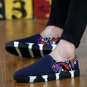 Women's canvas lazy shoes set foot casual shoes 119779