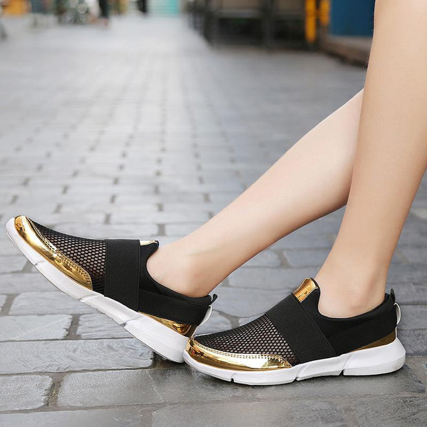 Female large size ultra light outdoor sports shoes non-slip wear 118250