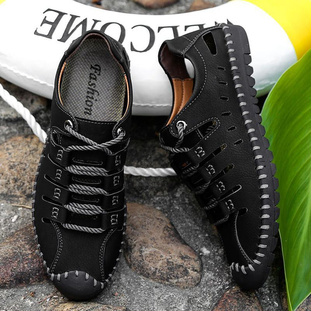 Men's casual shoes breathable manual driving shoes men's lazy shoes 120391
