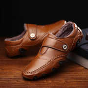 Men's British Style Moccasins Genuine Leather Flats