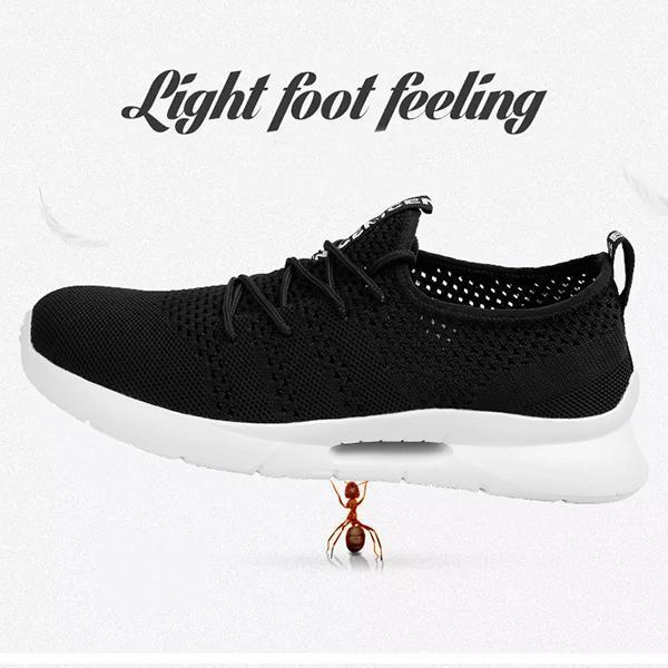 Men's breathable sports knit shoes 119968