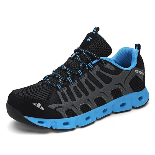 Men's Breathable Flying Woven Hiking Shoes